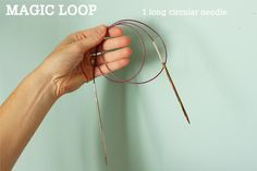 Magic Loop Technique – how to knit in the round using a single long circular needle | Tin Can Knits