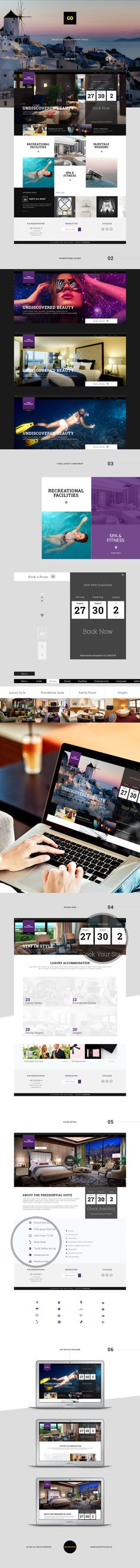 A Concept for a Hotel Website