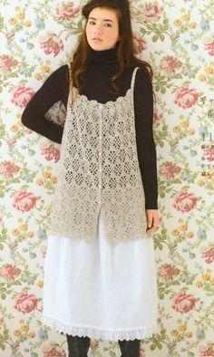 PDF Free Shipping Crochet Singlet Top Pattern  by DotsStripes, $2.50