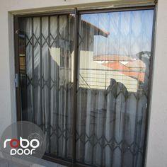 The Window Burglar Bars from Robo Door. The burglar bars that keep your worries away.