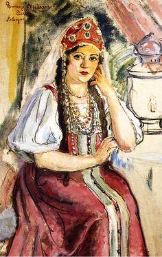 Henri Lebasque - Oriental Woman.