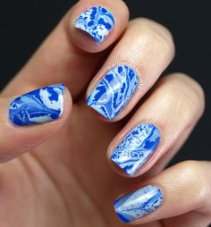 Tutorial: Distressed Water Marble