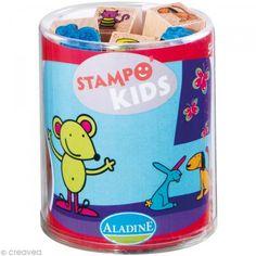 Kit 15 tampons Stampo'kids Lili et ses amis