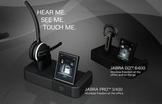 #Jabra debuts six touchscreen-paired headsets designed for Microsoft #Lync via #Engadget