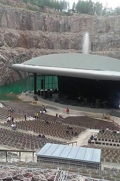 Dalhalla — Rättvik, Dalecarlia, Sweden   19 Insanely Weird Concert Venues To Visit Before You Die