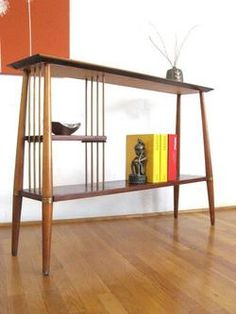 mid century simple italian style bookcase - What a fab item! Mine, lol!