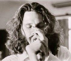 Jim Morrison recording L.A. Woman, 1971.  Edmund Teske