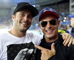 Zac Efron Met His Olympic Twin So All Is Right With The World
