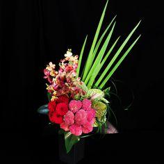 9月の花 フェルトピンクアレンジ |花・フラワーギフトならケイフローリストデザイン。即日配送も可能!