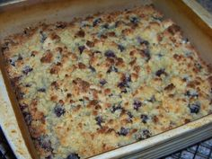 Easy Blueberry Cobbler Shared on https://www.facebook.com/LowCarbZen