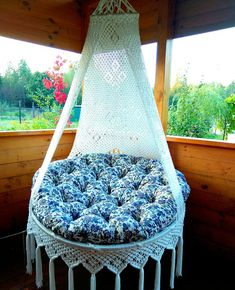 Modern Furniture Decor Small Home Furniture Macrame Hanging Chair, Macrame Chairs, Hanging Swing Chair, Macrame Wall Hanging Patterns, Swinging Chair, Hanging Chairs, Swing Chairs, Adirondack Chairs For Sale, Diy Chair