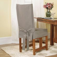 Perfect Dining Room Chair Covers Design Slipcovers Ideas Gray Fabric