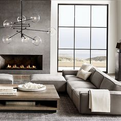 6 Small Living Room Design Tips and Ideas - Des Home Design Living Room Interior, Interior Design Living Room, Modern Home Interior Design, Modern Interiors, Living Room Sofa, Natural Modern Interior, Modern Room Design, Modern Luxury, Dining Room