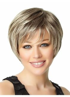 Toasted Pecan Layered Synthetic Wig