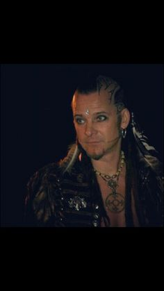 Steve Sic, leadsinger, with a lot of other functions,of the pagan band Omnia, amazing artist and lovely friend <3