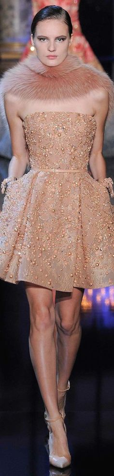 Elie Saab Fall 2014-2015 Couture.:
