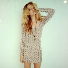 want that dress. #style #knit #dress