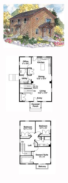 Saltbox House Plan 69777 | Total Living Area: 1814 sq. ft., 3 bedrooms and 1.5 bathrooms. #saltboxhome