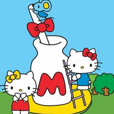Sanrio Friend of the Month: Hello Kitty & Mimmy