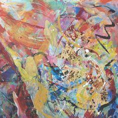 'Celebration Rosie Britton, Mixed media on canvas Mixed Media Canvas, Painting & Drawing, Drawings, Artist, Celebration, Artists, New Media Art, Sketches, Drawing