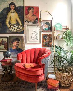 Bohemian decor – Eclectic Home Decor Today Bohemian Interior Design, Eclectic Design, Eclectic Decor, Eclectic Chairs, Eclectic Gallery Wall, Eclectic Furniture, Industrial Furniture, Modern Furniture, Bohemian Furniture