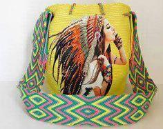 Head dress Wayuu Mochila bag