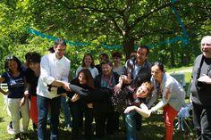 Photo de groupe Voyage Blogueurs Roquefort Papillon 2013