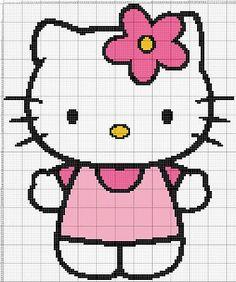 Hello Kitty applique pattern