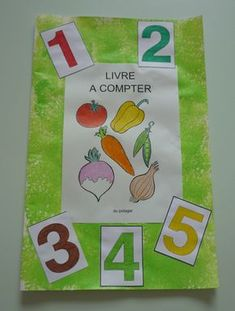 Bientôt le livre à compter du potager: – Les petits zèbres Creation Activities, Daycare Themes, Petite Section, Beginning Of Year, Decoupage, Education, Learning, School, Albums