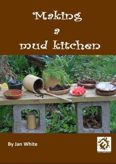 British early childhood nature education expert Jan White argues that mud kitchens are low-cost, easy, and fun spaces for children to play and develop. Nature Activities, Outdoor Activities, Mud Pie Kitchen, Outdoor Learning Spaces, Outdoor Play Equipment, Natural Playground, Water Walls, Outdoor Classroom, Forest School