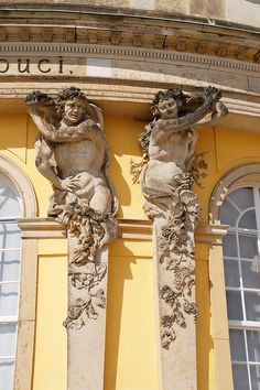Atlante and caryatid - Sanssouci