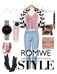 """Untitled #114"" by buki2000 on Polyvore featuring Topshop, CLUSE, Lancôme, Mike + Ally, HOMMAGE, Steve Madden and Kendall + Kylie"