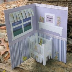 New Baby Popup Card you personalize by CornerstoneLAE on Etsy
