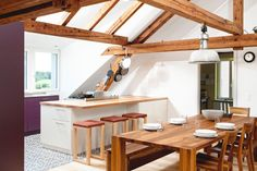 Taking care of wood beams