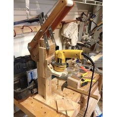 DIY drill press