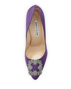 Manolo Blahnik Hangisi Purple