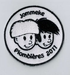 Jommeke is one of the most famous comic book-characters in Belgium! Do you know him? He is the subject of many youth movement camp themes. You can simply sew or iron this patch on your bag or uniform or... Free samples on ibadge.com!