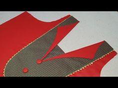 Coat Collar Look Latest Front Neck Designs – holdon Churidhar Neck Designs, Salwar Neck Designs, Neck Designs For Suits, Saree Blouse Neck Designs, Neckline Designs, Kurta Designs Women, Dress Neck Designs, Sleeve Designs, Tunic Designs