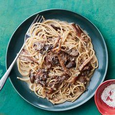 Drunken Mushroom Spaghetti. Drunken Mushroom Spaghetti in 30 minutes!