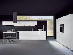 Modern Kitchen Cabinets Modern White 010 A032a Peninsula Hood Black Wall Gray Floor Black Ceiling Kitchen Ceiling Design Ideas-Interior, Kitchen-Kitchen Ceiling Design Ideas