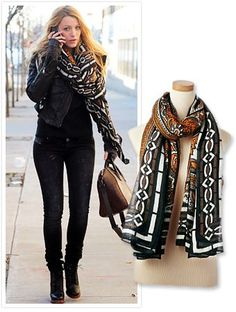 WIN our fav fall scarves from Theodora & Callum, a fav of celebs like Blake Lively! Enter to win here: