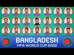 World Cup 2022, Fifa World Cup, National Football Teams, Squad, Asia, Youtube, Youtubers, Classroom, Youtube Movies