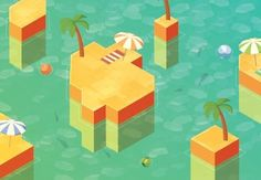 Hexels is a 2D grid-based art program that lets you create a variety of styles with a variety of shapes. Combined with Illustrator, it becomes a powerful tool for iteration of concepts and texturing. | Difficulty: Intermediate; Length: Long; Tags: Hexels, Vector, Adobe Illustrator, Isometric, Illustration