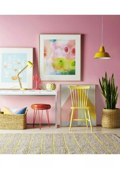 Add colour to your living space #aromabotanical