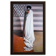 Tylonn J. Sawyer Original Art - Study For The Allegory Of Liberty Art Studies, Detroit, Original Artwork, Liberty, African, Study, Artists, The Originals, Painting