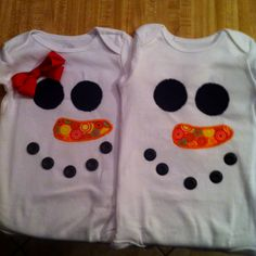 snomann twinkiess:) this would be so cute with tutus! Fun Stuff, Stuff To Do, Snowmen, Fun Projects, Grandkids, Aunt, Diy And Crafts, Craft Ideas, Babies