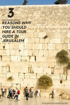 When planning your pilgrimage to the Holy Land, please consider these 3 reasons why you should hire a Jerusalem tour guide! | Jerusalem Tavel | Israel Travel