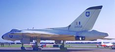 A rare colour image of Avro Vulcan XH558 in 1961 with the Yorkshire Rose tail design. Courtesy of Martin Fenner.