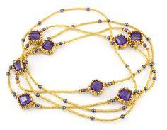 Crystal Station Break Necklace Kit - Beads Gone Wild  - 1