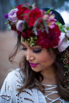 jewel toned bohemian wedding ideas0035